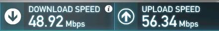 bandwidth upgrade before